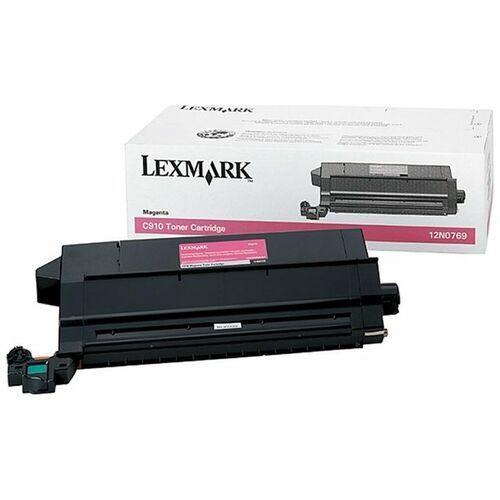 Lexmark Wyprzedaż oryginał kaseta z tonerem  12n0769 do lexmark c-910 c-912 x-912 | 14 000 str. | magenta