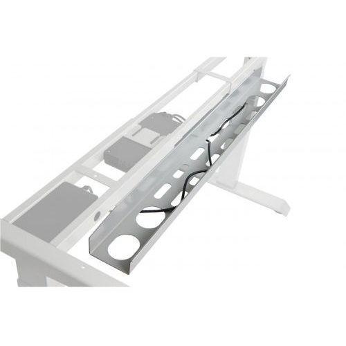 Poziomy kanał kablowy (aluminium) do stelaża SHB320 i A103 z elektryczną regulacją wysokości, CT-01/A