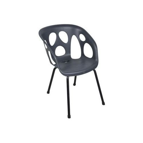 Krzesło ogrodowe GHOST antracytowe