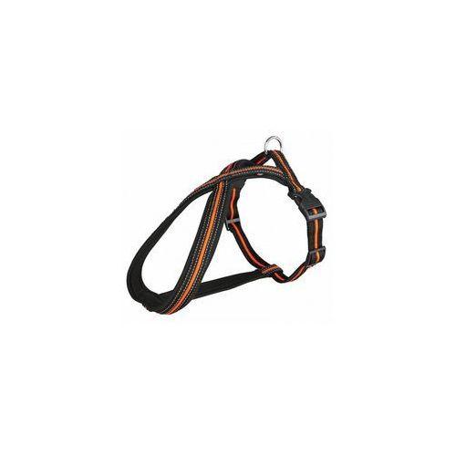 uprząż fusion s-m 40-60cm/23mm czarno-pomarańczowa [tx-20611] marki Trixie