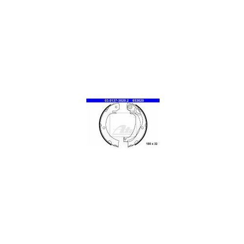 ATE Zesatw szczęk hamulcowych, hamulec postojowy - 03.0137-3020