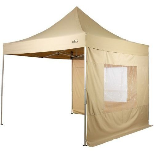 Stilista ® Ekspresowy beżowy pawilon namiot ogrodowy 3x3m - beżowy
