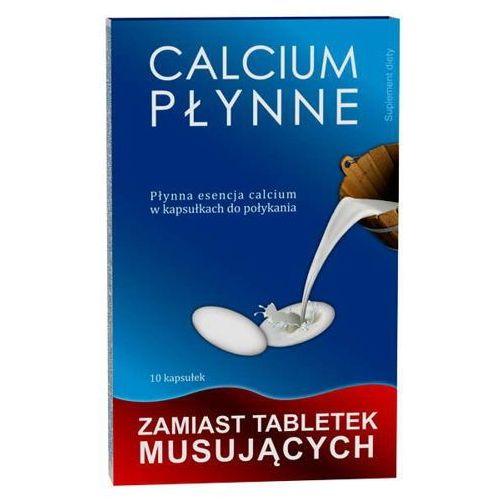 Calcium płynne w kapsułkach x 10 sztuk