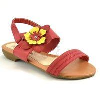 Sandały dla dzieci Wojtyłko 19022 - Czerwony, kolor Czerwony
