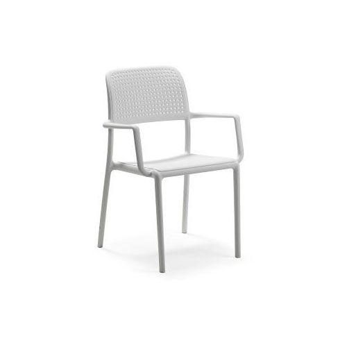 Nardi Krzesło bora z podłokietnikami białe