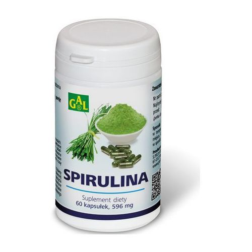 Kapsułki Spirulina 60 kaps.