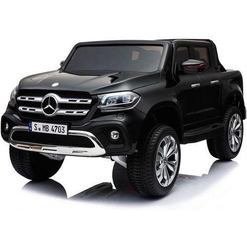 Hecht czechy Hecht mercedes benz xmx606 black samochód elektryczny akumulatorowy terenowy auto jeździk pojazd zabawka dla dzieci
