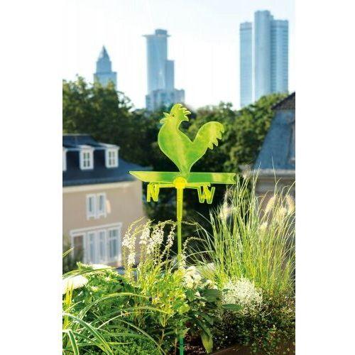 Zielony kogut wiatrowskaz fluorescencyjny na balkon Scheurich, 4033083565933