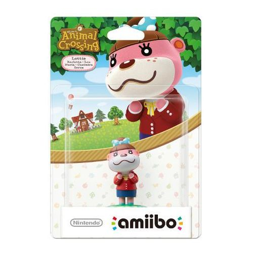 Figurka amiibo animal crossing lottie marki Nintendo