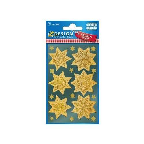 Zdesign Naklejki złote gwiazdy (4004182528082)