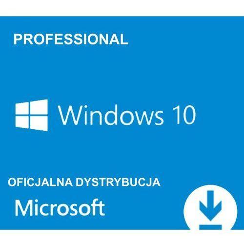 Microsoft  windows 10 profesional pl od partnera microsoft 32/64bit fv23%
