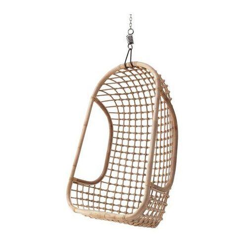 HKliving Wiszący fotel rattanowy naturalny RAT0023, RAT0023