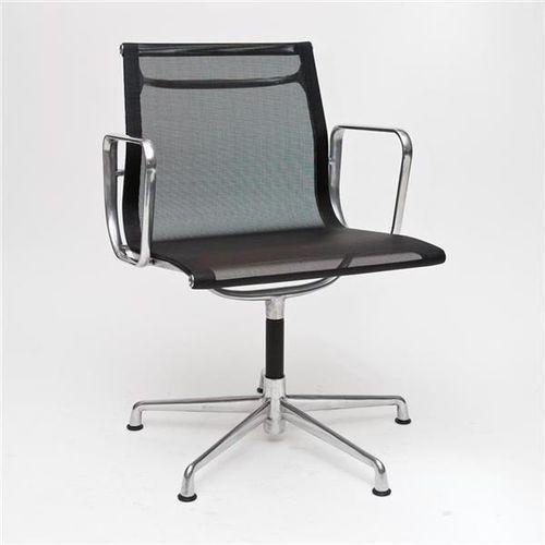 Fotel konferencyjny CH inspirowany EA108 siateczka, chrom (5902385705950)