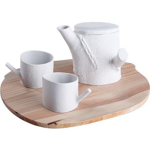 Cmielow design studio Zestaw do herbaty natura