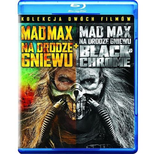 Galapagos Mad max: na drodze gniewu (edycja specjalna black&chrome) (blu-ray) - miller george darmowa dostawa kiosk ruchu