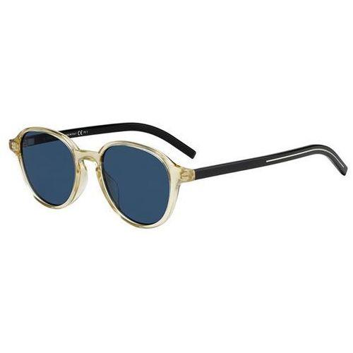 Okulary Słoneczne Dior BLACK TIE 240S 71C/KU, kolor żółty