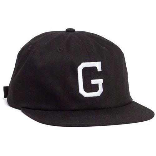 czapka z daszkiem GRIZZLY - Coliseum G Polo Strapback Black (BLK), kolor czarny