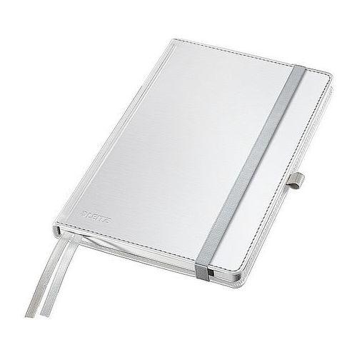 Leitz Notatnik w twardej oprawie style a5 80 kartek kratka biały 44860004