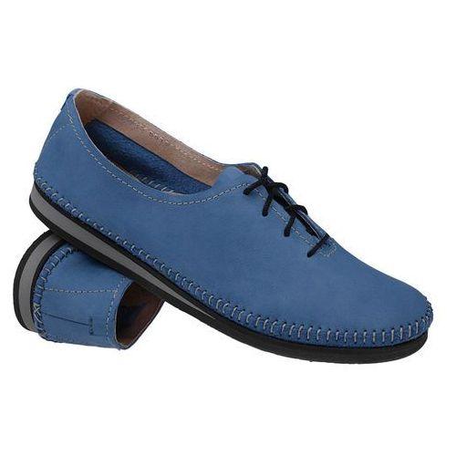 ce5120ea1f374 Info · Mokasyny sznurowane buty 6870 niebieskie - niebieski marki Simen