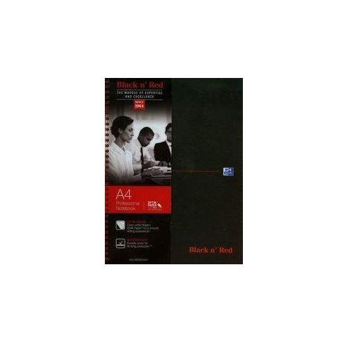 Kołobrulion A4 Black n' Red w kratkę 140 kartek