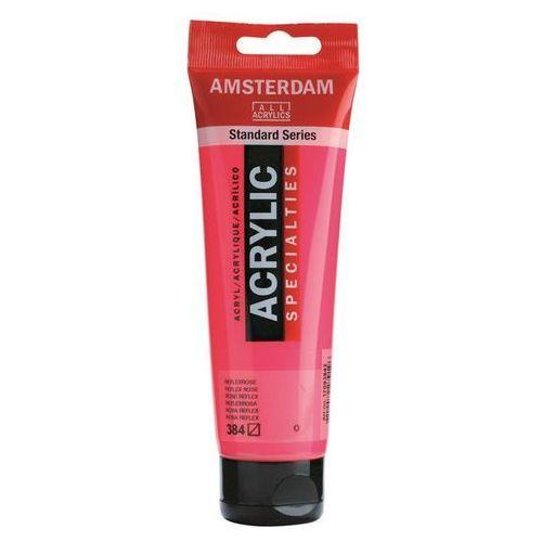 Talens Amsterdam Acryl Farba 384 Reflex Rose 120ml, 384