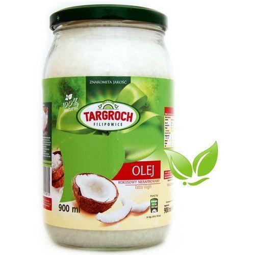 Olej kokosowy nierafinowany 100% naturalny 900ml marki Targroch. Najniższe ceny, najlepsze promocje w sklepach, opinie.