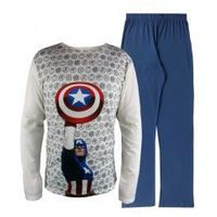 "Męska piżama ""kapitan ameryka tarcza"" xl, Avengers"