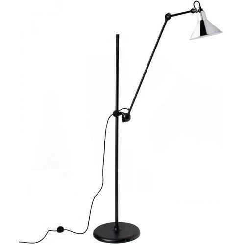 Lampe Gras N°215 - lampa podłogowa - czarny/chrom, kolor czarny/chrom