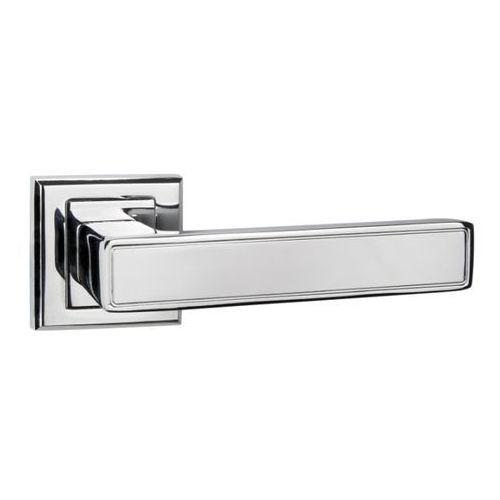 Klamka drzwiowa Schaffner Clara kwadratowy szyld chrom, CLCRO