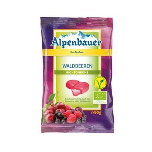 90g cukieki z nadzieniem o smaku owoców leśnych vegan bio marki Alpenbauer