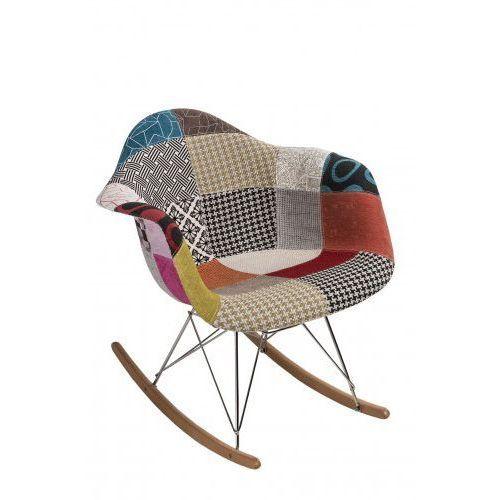 D2design Krzesło bujane p018 rar (patchwork) d2