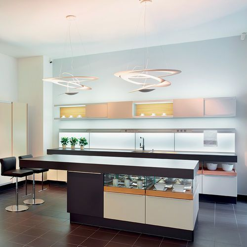 Artemide Designerska lampa wisząca biała - pirce suspension