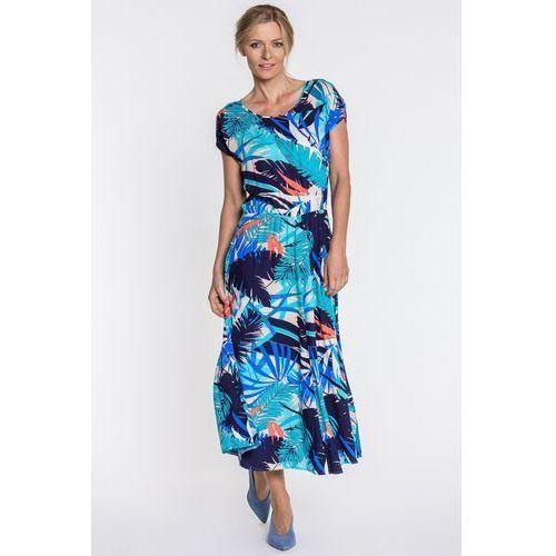 Sukienka w kwiaty - Jelonek, 1 rozmiar