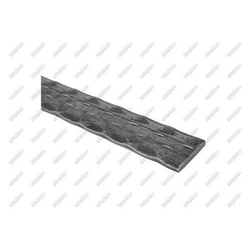 Plaskownik zdobiony a30, b5, L3000mm, (1,18 kg/m)