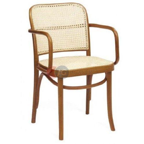 Paged Krzesło z podłokietnikiem buk b-8110