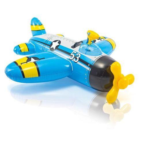 Intex samolot nadmuchiwany - niebieski (6941057402246)