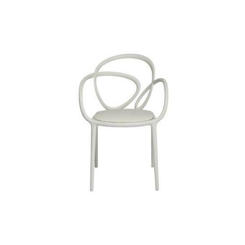 QeeBoo Krzesło Loop z poduszką białe - 2 szt. 30002WH