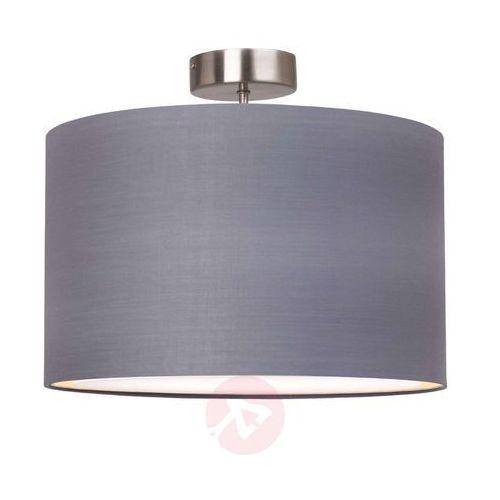 Brilliant Clarie lampa sufitowa Stal nierdzewna, 1-punktowy (4004353158681)