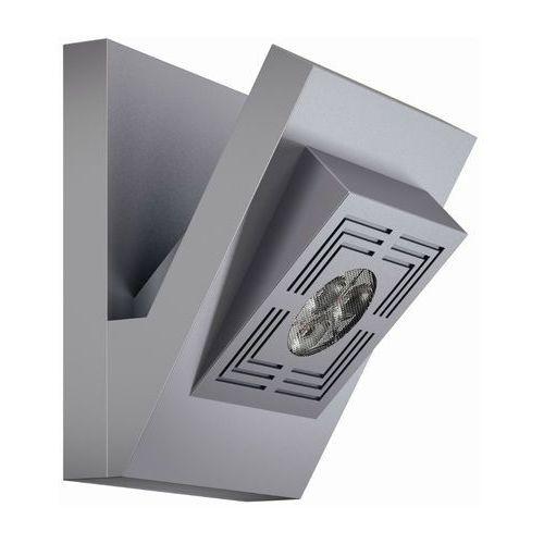 Tresol cube - kinkiet ścienny led srebrny wyprodukowany przez Osram