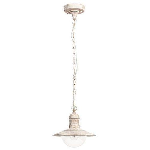 Lampa wisząca zewnętrzna Rabalux Oslo 1x60W E27 IP44 antyczny biały 8740, 8740