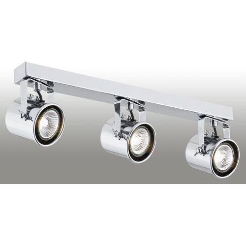 Plafon LAMPA sufitowa CEJLON 1179 Argon metalowa OPRAWA listwa SPOT reflektorki chrom, kolor Srebrny