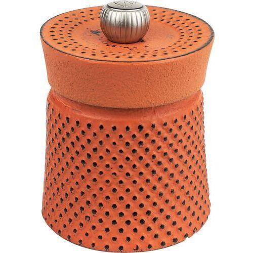 Peugeot Młynek do pieprzu żeliwny bali fonte 8 cm pomarańczowy (pg-35426)