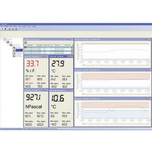 Oprogramowanie pomiarowe Greisinger EBS 20M EASYBus do urządzeń serii GMH