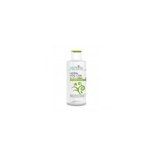 Green pharmacy Vis plantis - płyn micelarny 3 w 1 z sokiem z aloesu i pantenolem 150 ml (5904567055181)