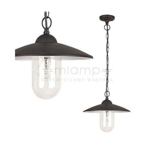Zewnętrzna lampa wisząca vigo 8687 ogrodowa oprawa zwis na łańcuchu outdoor ip44 czarny marki Rabalux