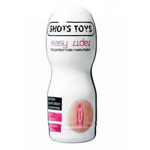 Masturbator wagina w puszce easy rider vagina żel gratis sht016-3 marki Shots media bv