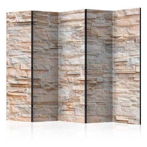 Artgeist Parawan 5-częściowy - kamienne wyrafinowanie ii [room dividers]