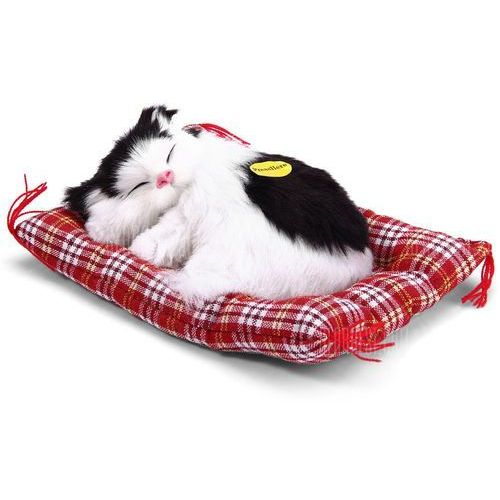 Gearbest Simulation sleeping cat toy with cloth pad
