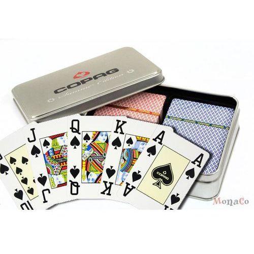 Karty copag 4 pr - summer - pokerowe jumbo - 100% plastik karty copag 4 pr - summer - pokerowe jumbo - 100% plastik marki Copag cards