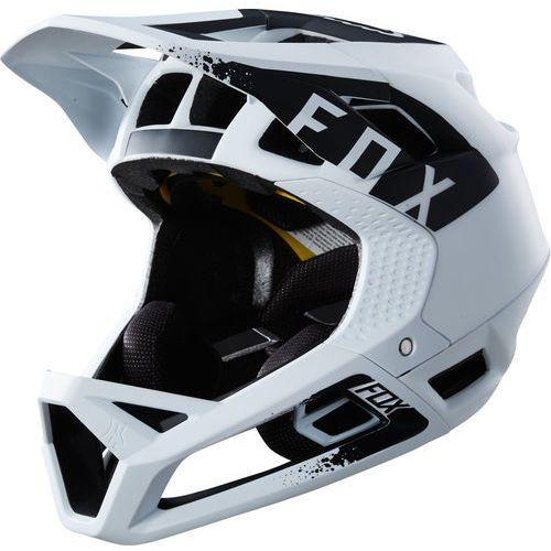 proframe mink kask rowerowy mężczyźni biały l | 58-61cm 2018 kaski rowerowe marki Fox